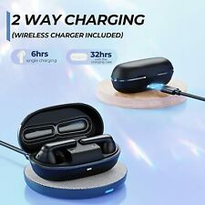 enacfire a8 noise cancelling earbuds with Wireless Charging and wireless charger