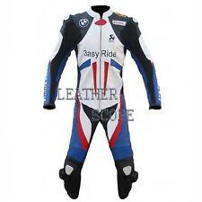 BMW motorbike, motorcycle motogp racing leather suit