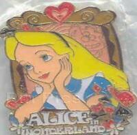 Disney Pin 74705 Alice in Wonderland Framed Portrait cheshire cat 2009 LE