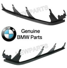 For BMW E46 3 Series Pair Set of Left+Right Headlight Cover Strip Upper Genuine