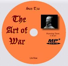 THE ART OF WAR, Sun Tzu, Unabridged AudioBook on 1 MP3 CD