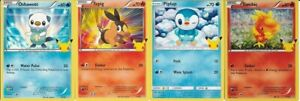 4 x POKEMON TRADING CARDS 2021 FROM Mc DONALDS