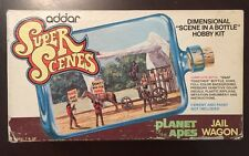 VINTAGE - Planet of the Apes - Scene in a Bottle JAIL WAGON - addar 1975