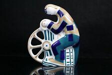 Sargadelos Spanish Porcelain Abstract Figure Knife Grinder