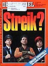 SPIEGEL 6/1974 Warnstreiks im öffentlichen Dienst in Deutschland