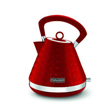 Morphy Richards Vector Red Pyramid Kettle 108133