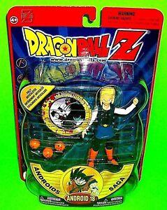 VTG ANDROID 18 Dragonball Z Irwin Toys DBZ Action Figure Androids Saga Blue Eyes