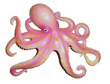 "Octopus 4"" Tropical Fish Home Decor Wall Mount Plaque Beach Art"