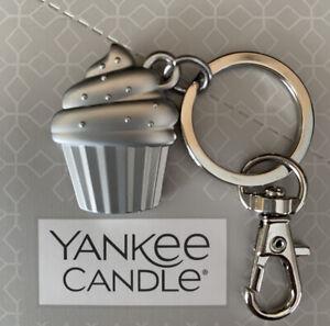 "Yankee ""Cupcake"" Keyring/Handbag Charm - Charming Scents Collection - Free P&P"