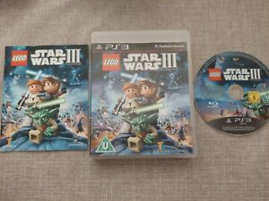 LEGO STAR WARS 3 THE CLONE WARS PS3 PLAYSTATION 3 PREOWNED