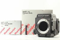【 UNUSED in Box 】MAMIYA RB67 Pro SD Body WLF + 120 Film Back From JAPAN #677