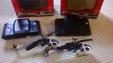 2 ferngesteuerte Hubschrauber, Helicopter, Infrarot, Modellbau Helikopter defekt