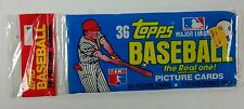 1981 Topps Grocery Baseball Rack Pack - Tim Raines Rookie Card Showing Unopened