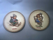 Lot/Set of 4 Vintage Hummel Annual Plates 1971 1972 1975 1976