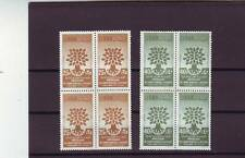 LEBANON - SG647-648 MNH 1960 WORLD REFUGEE YEAR - BLOCKS OF 4