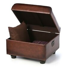Storage chest - ottoman faux leather, includes shipping