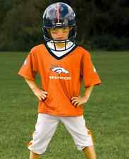 YOUTH SMALL Denver Broncos NFL UNIFORM SET Kids Game Day Jersey Costume Ages 4-6