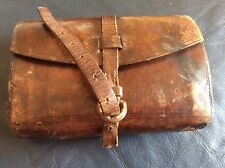VINTAGE LEATHER FLY FISHING WALLET INC FLIES..