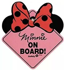 Baby On Board Disney Baby Minnie Mouse On Board Car Decal Sign Safety 1st