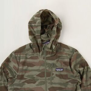 Mens Patagonia Houdini Jacket Bear Witness Camo Size Large Brand New with Tags