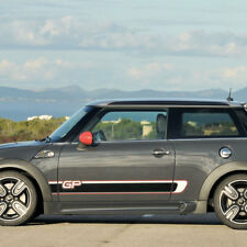 Mini Cooper R56 GP side stripes graphics decal rocker stripes