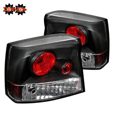 Rear Altezza Tail Light  Clear Lens Black Housing Red 05-08 Dodge Charger