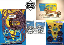 KX 250 93-01 Mitaka Bottom End Engine Rebuild Kit Rod Mains Gasket Seal Kit
