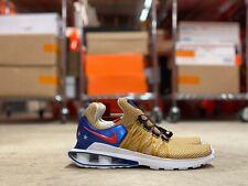 Nike Shox Gravity Mens Running Sneakers Metallic Gold AR1999-700 NEW Multi Sz