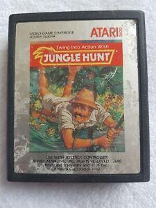 Atari 2600 Jungle Hunt game cartridge (1988) Tested + working!