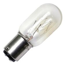 SATCO S3906 15W 120V T7 CLEAR BA15D BAYONET DC BASE INCAND BULB (PACK OF 5)