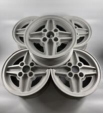 "5 X Ford Fiesta Supersport Series X Ronal RS ""4 Spoke"" 6J X 13 Alloy Wheels"
