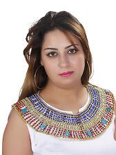 Kleopatra Pharao Collier Tut Anch Amun Halskette Karneval Fasching - BC0002