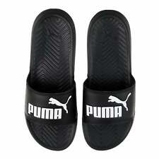 37473735521 PUMA Popcat Big Logo Black White Mens Sandal Slides Slippers 36026510 UK 5