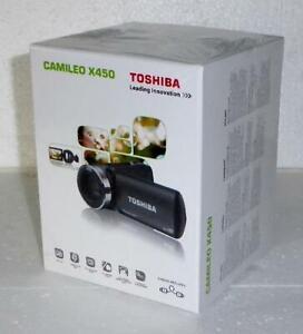 Toshiba Camileo X450 * CMOS Handcamcorder * Schwarz * Full HD - Neuware