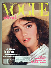 Vogue Magazine - May, 1984 ~~ Brooke Shields cover
