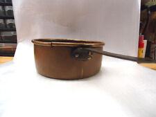 Antique 1800's  Copper Pot - Dovetailed