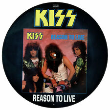 "KISS REASON TO LIVE Limited Edition 4 track 12"" vinyl Picture Pic Disc"