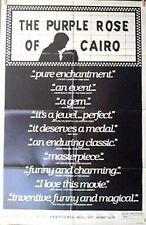 1985 PURPLE ROSE CAIRO  Orig one-Sheet Movie Poster- Woody Allen (MHPO-084)