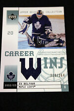 2002-03 Upper Deck Mask Collection Career Wins Jersey #CWEB Ed Belfour 239/364
