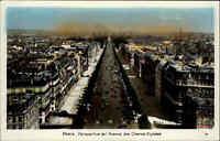 Paris Frankreich France ~1950/60 Avenue des Champs-Élysées Allee Straße Panorama
