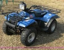 Suzuki Quad Runner 250/King Quad 280 1987-1998  Workshop Manual on CD