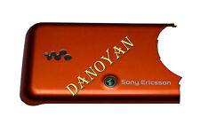 Original Sony Ericsson W610i W610  Akkudeckel Cover Oberschale Orange