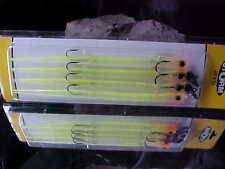 """(1) Storm JIG' N EEL (4) pack of 10 1/2"""" for Fresh/Saltwater 1 1/2oz WJE1EE"""
