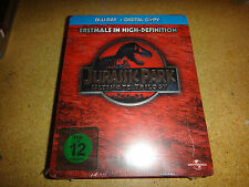 The Jurassic Park Trilogy Blu-ray SteelBook