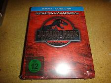 The Jurassic Park Trilogy Blu-ray SteelBook