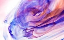 "Abstract Art Stunning Violet & Fuscia A3 CANVAS PRINT 18""X 12"""