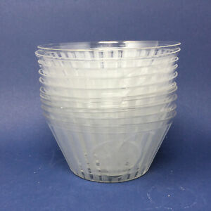 Antique Hawkes Cut Glass SHERATON Finger Bowls - Set of Ten