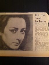 L5-2 1974 Article Carmen Gomez Actress Don't Drink The Water Lwt Tv Play