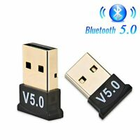 USB Bluetooth 5.0 Wireless Audio Music Stereo Adapter Dongle Receiver for PC TAY