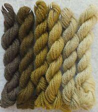 Vintage Khaki Brown Shades (pre-1980) Paternayan Persian Wool